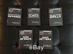 Better Basketball Read & React OFFENSE (5 DVD box SET!) TOTAL 10 DVDs