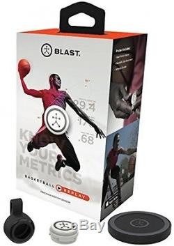 Blast Motion Basketball Replay/3D Motion Capture Training Aid, Smart Capture
