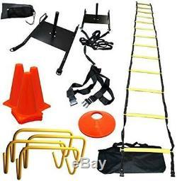 Bluedot Trading Strength & Speed Agility Training Sled Ladder Cones Kit