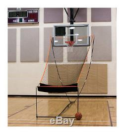 BowNet Basketball Returner Portable Net with Carry Bag Bow-Basketball