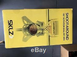 Brand New Sklz Shoot Around Basketball 180 Degree Rotation Ball Return