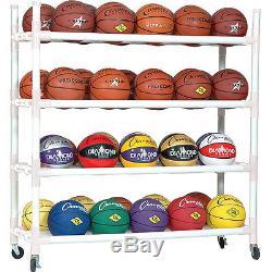 Champion Sports 40 Ball Heavy Duty Cart