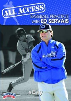 Championship Productions All Access Baseball Practice with Ed Servais DVD