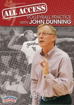 Chmp-vd03760-all Access Stanford Women's Volleyball Practice With John Dunning