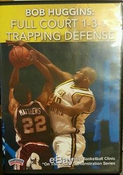 Coaching Basketball DVD Bob Huggins Full Court 1-3-1 Trapping Defense