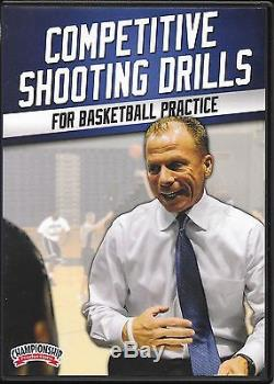 Coaching Basketball Matthew Driscoll Competitive Shooting Drills Practice DVD