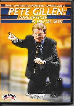 Coaching Basketball Pete Gillen Zone Offense & Special Sets DVD