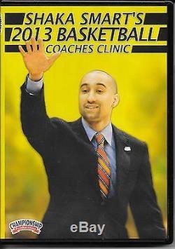 Coaching Basketball Shaka Smart 2013 Basketball Coaches Clinic DVDs 4 Hours