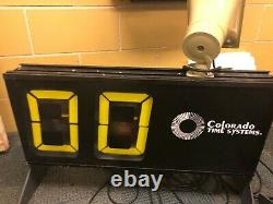 Colorado Time Systems Shot Clock for Water Polo, Basketball
