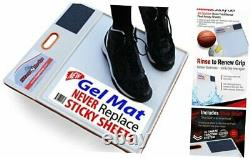 Courtside Shoe Grip Traction Mat Newest Sticky Mat Never Needs New Grip