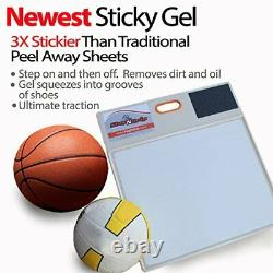 Courtside Shoe Grip Traction Mat Newest Sticky Mat Never Needs Replacement