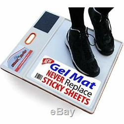 Courtside Shoe Grip Traction Mat Newest Sticky Never Needs Replacement Sheets