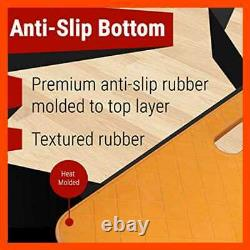 Courtside Shoe Grip Traction Mat Newest Sticky Never Needs Replacement Sheets Al
