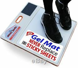 Courtside Shoe Grip Traction Sticky Mat Allows Court for Basketball Volleyball