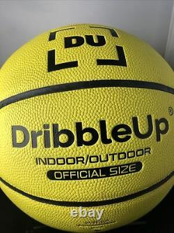 DRIBBLE UP SMART BASKETBALL Official Size Indoor/Outdoor Basketball No Stand