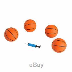 Double Hoop Shot Electronic Basketball Arcade Game 2 Player with 4 Ball Indoor