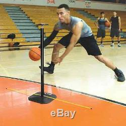 Dribble Stick Basketball Dribble Trainer Plyometric Training Coach Equipment