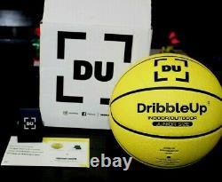 Dribble Up Smart Basketball OFFICIAL SIZE 28.5 jUNIOR OR Girl BASKETBALL Used