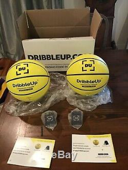 Dribble Up Smart Basketball Set Of Two OFFICIAL SIZE