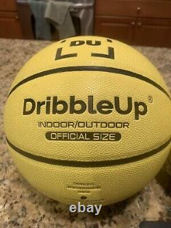 Dribble Up-Yellow Soccer Ball & Basketball With Phone Stand (Lot Of 2/make offers)