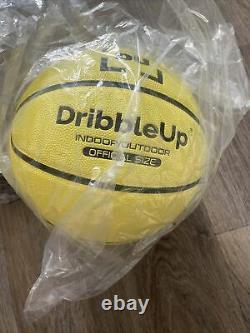 Dribble up basketball
