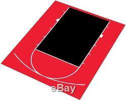 DuraPlay Half Court Basketball Kit