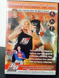 Five(5) Better Basketball Instructional DVD's PLUS Bonus DVDs