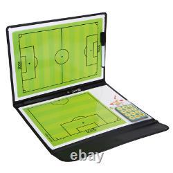 Football Tactics Board Magnetic Football Soccer Coaching Dry Erase Clipboard Tac