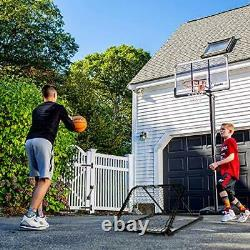 Franklin Sports Basketball Pass Back Rebounder Net Multi-Sport Training Reb