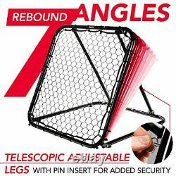 Franklin Sports Basketball Pass Back Rebounder Net Multi-Sport Training Rebound