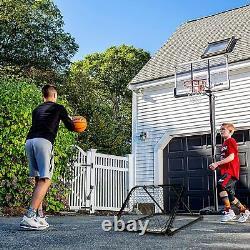 Franklin Sports Basketball Pass Back Rebounder Net Multi-Sport Training for