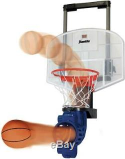 Franklin Sports Mini Basketball Hoop with Rebounder and Ball Over The Door