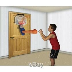Franklin Sports Over The Door Mini Basketball Hoop With Rebounder and Automatic