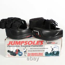 GORGEOUS JUMPSOLES PLYOMETRIC TRAINING PLATFORMS SYSTEM WithDVD & MANUAL, SIZE MED