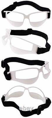 Gafas lentes deportivos color blanco tamaño ajustable entrenamiento baloncesto