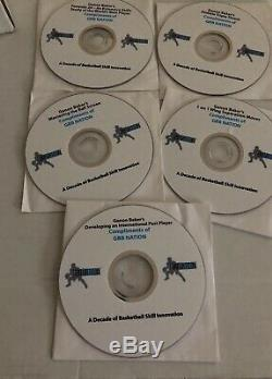 Gannon Baker Basketball Coaching Package 13 Dvds And Coaching Book. Used