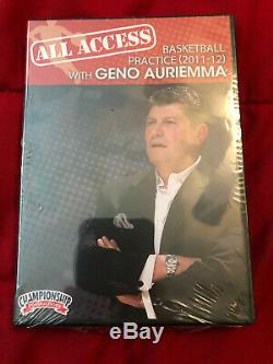 Geno Auriemma UCONN Huskies All-Access Basketball Coaching DVD