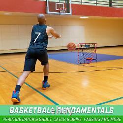 GoSports Basketball Rebounder with Adjustable Frame Indoor Outdoor Training Tool