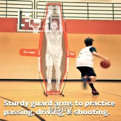 GoSports Basketball Xtraman Dummy Defender Training Mannequin, Huge 7' Size