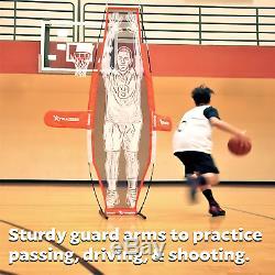 GoSports Basketball Xtraman Dummy Defender Training Mannequin Huge 7' Size for