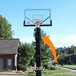 Goaliath Basketball Court Yard Guard Ball Retrieval Net 4 x 4 Pole