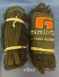 Goalrilla Basketball Yard Guard Easy Fold Defensive Net System
