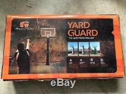 Goalrilla Basketball Yard Guard Easy Fold Defensive Net System, New In Box