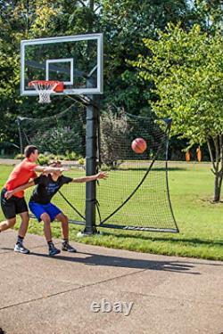 Goalrilla Basketball Yard Guard Easy Fold Defensive Net System Quickly Installs