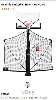 Goalrilla Yard Guard Protecting Net & Ball Return Basketball Training aid