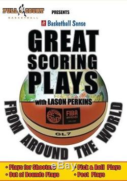 Great Scoring Plays From Around The World Lason Perkins Basketball coaching DVDs