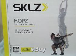 HOPZ Vertical Jump Trainer + Carry Bag 80lb Resistance Bands Jump Training SKLZ