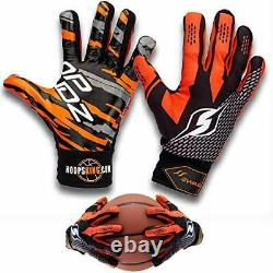 Hoop Handz Basketball Weighted Training Gloves (Anti-Grip), Over 3 Extra-Large