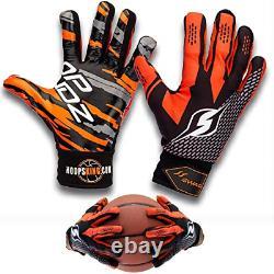 Hoop Handz Weighted Basketball Dribbling Gloves Anti-Grip
