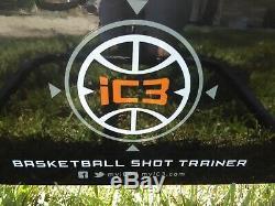 IC3 basketball shot training system, ASSEMBLED